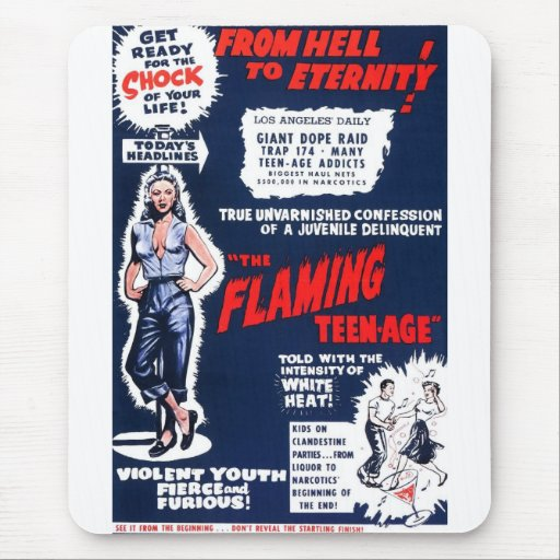 The Flaming Teen-Age Mousepads