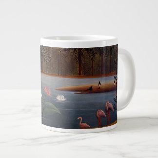 The Flamingos Jumbo Mug