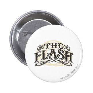 The Flash - It's Showtime! Letters 6 Cm Round Badge