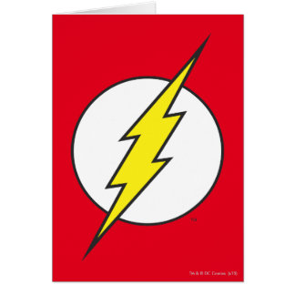 The Flash | Lightning Bolt Greeting Card