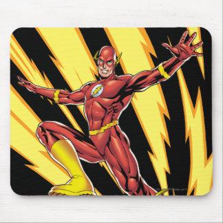 The Flash Lightning Bolts Mouse Mat