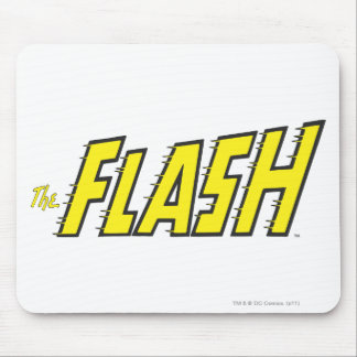 The Flash Logo Yellow Mouse Pad