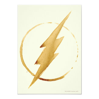 The Flash | Yellow Chest Emblem Card