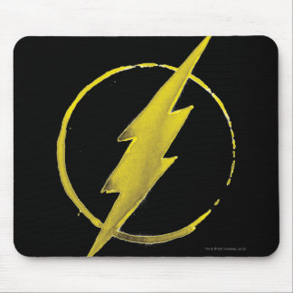 The Flash | Yellow Chest Emblem Mouse Mat