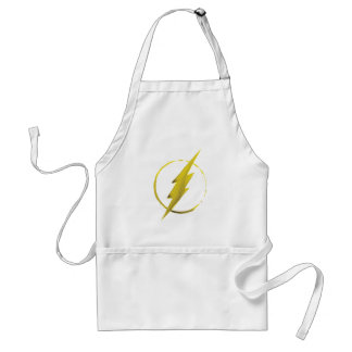 The Flash | Yellow Chest Emblem Standard Apron