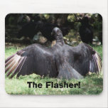 The Flasher! Mouse Pad