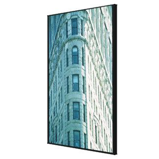 The Flatiron Building (photo) 2 Canvas Print