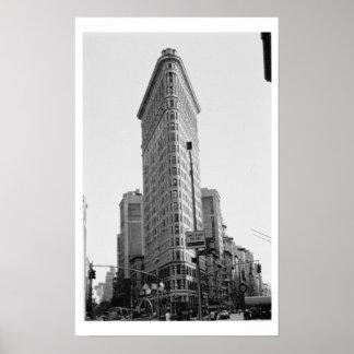 The Flatiron Building (photo) Poster