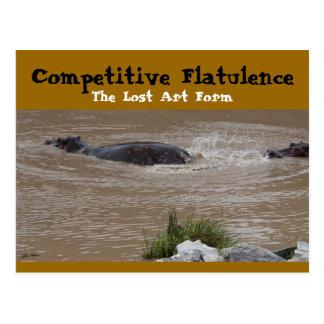 The Flatulent Defense Post Card
