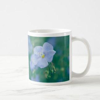 The Flax Fairy Basic White Mug