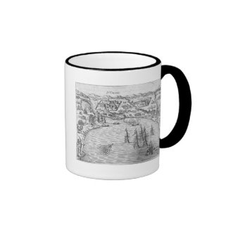 The Fleet of Joris van Spilbergen (c.1568-1620) re Ringer Mug