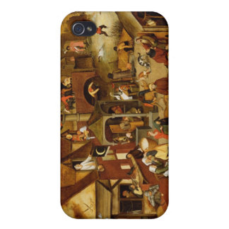 The Flemish Proverbs Case For iPhone 4