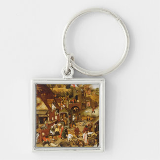 The Flemish Proverbs Key Ring