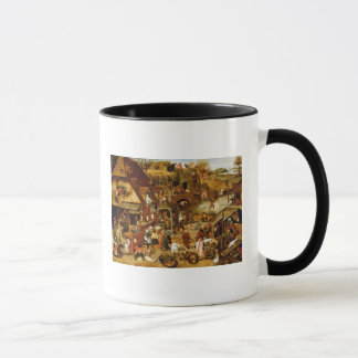 The Flemish Proverbs Mug