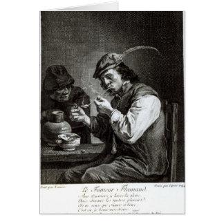 The Flemish Smoker Card