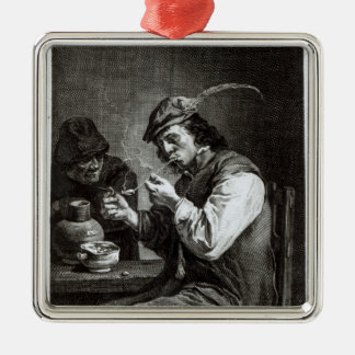 The Flemish Smoker Christmas Ornament