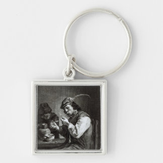 The Flemish Smoker Key Ring