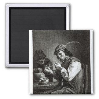 The Flemish Smoker Magnet