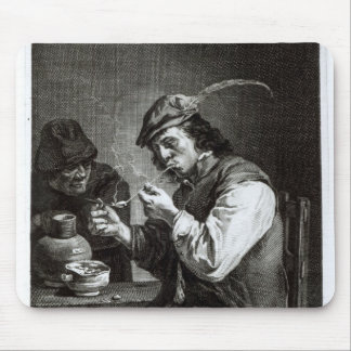 The Flemish Smoker Mouse Mat