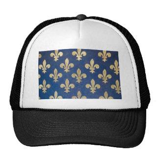 The fleur-de-lis or fleur-de-lys cap