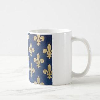 The fleur-de-lis or fleur-de-lys coffee mug