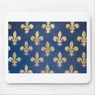 The fleur-de-lis or fleur-de-lys mouse pad