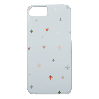 The Fleur-de-Lis - Vintage Pastel Colors iPhone 7 Case