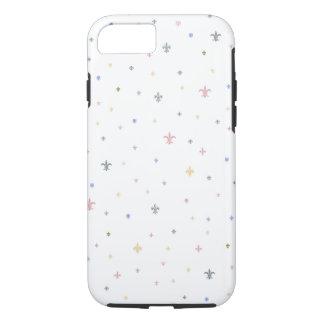 The Fleur-de-Lis - Vintage Pastel Colours iPhone 8/7 Case