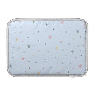 The Fleur-de-Lis - Vintage Pastel Colours Sleeves For MacBook Air