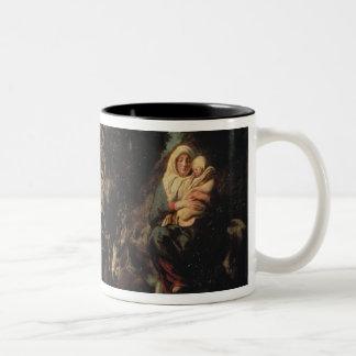 The Flight into Egypt, 17th century Mugs