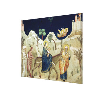 The Flight into Egypt 2 Canvas Print