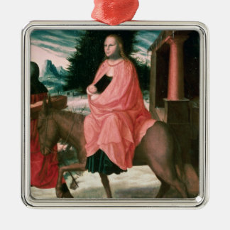 The Flight into Egypt 2 Christmas Ornament