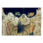 The Flight into Egypt 2 Greeting Card