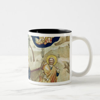 The Flight into Egypt 2 Two-Tone Coffee Mug