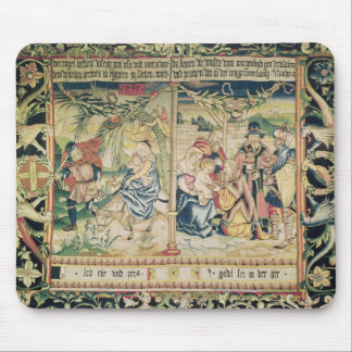 The Flight into Egypt and the Adoration of Mouse Mat