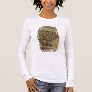 The Flight into Egypt, column capital relief from Long Sleeve T-Shirt