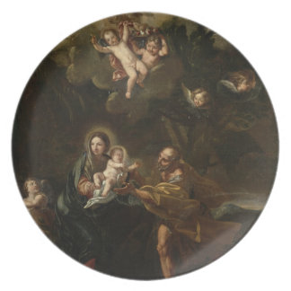The Flight into Egypt Plate