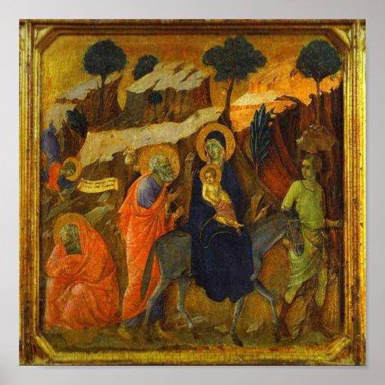 The Flight Into Egypt Religious Renaissance Poster