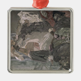 The Flight of Faust and Mephistopheles, 1896 Christmas Ornament