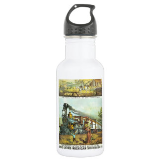 The Flight of The Fast Mail 532 Ml Water Bottle