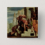 The Flight of the Israelites out of Egypt 15 Cm Square Badge