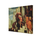 The Flight of the Israelites out of Egypt Canvas Print