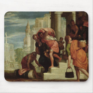 The Flight of the Israelites out of Egypt Mouse Mat
