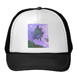 The Flight of Zora the Witch Cap