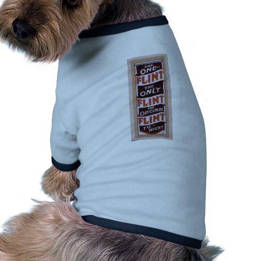 The Flint, 'To Night' Retro Theater Dog T Shirt