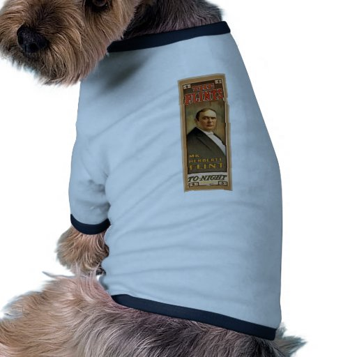 The Flints, 'To Night' Retro Theater Pet Shirt