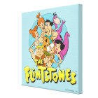 The Flintstones and Rubbles Family Graphic Canvas Print
