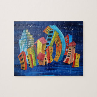 The Floating City Jigsaw Puzzle