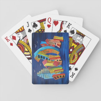 The Floating City Playing Cards