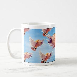 The Flock o' Stubbies Ceramic Mug